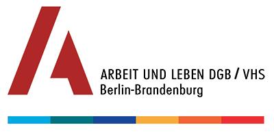 Logo des Bildungsinstituts des DGB Landesverbandes Berlin-Brandenburg - Arbeit und Leben DGB/VHS Berlin-Brandenburg