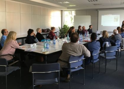 Erfahrungsaustausch mit Delegation aus Schweden