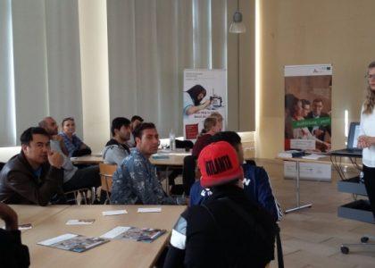 Interkulturelle Woche – mit Berufsberatung von KAUSA in Guben