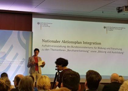 Auftaktveranstaltung zum Nationalen Aktionsplan Integration beim BMBF