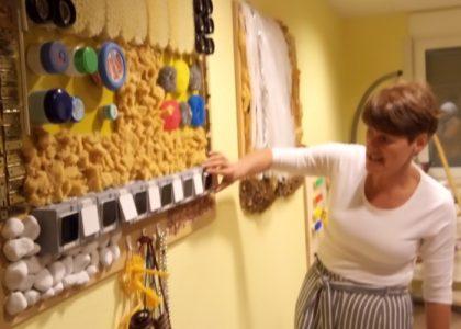 Unser Besuch in einer Wohnstätte für Behinderte und das Besondere des Pflegeberufs