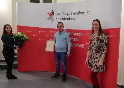 Auszeichnung für die Sprechcafés in Cottbus